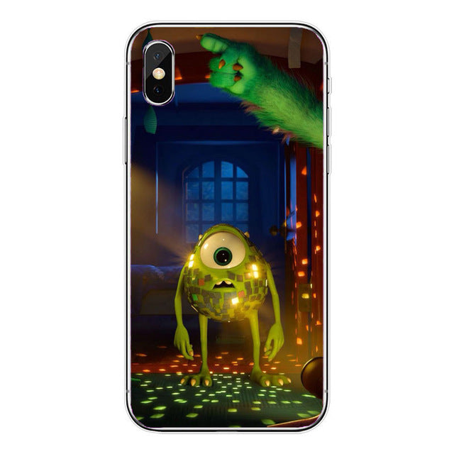 Funda iPhone Monstruos S.A 5
