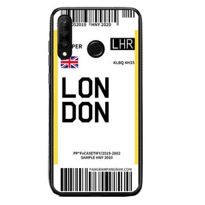 Funda Huawei Billete Avión London