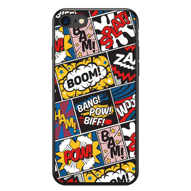 Funda iPhone Superheroes 37