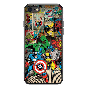 Funda iPhone Superheroes 35