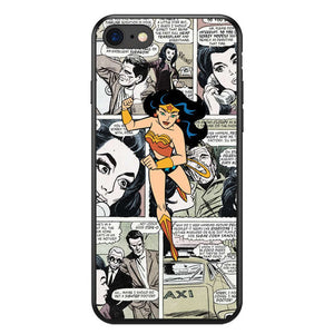 Funda iPhone Comic Superheroes 4
