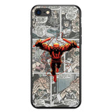 Funda iPhone Comic Superheroes