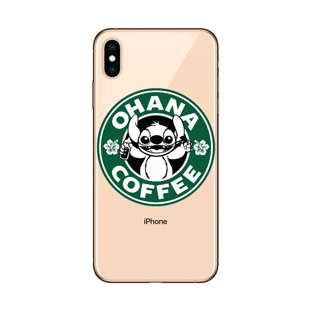 Funda iPhone Stitch Ohana Coffee