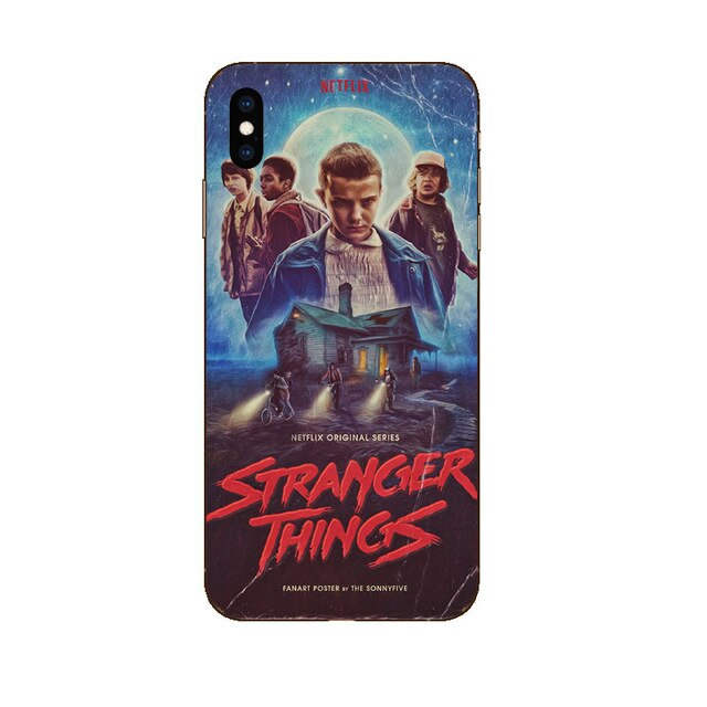 Funda iPhone Stranger Things Silicona 1