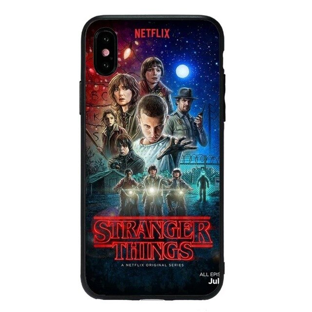 Funda iPhone Stranger Things Silicona 24