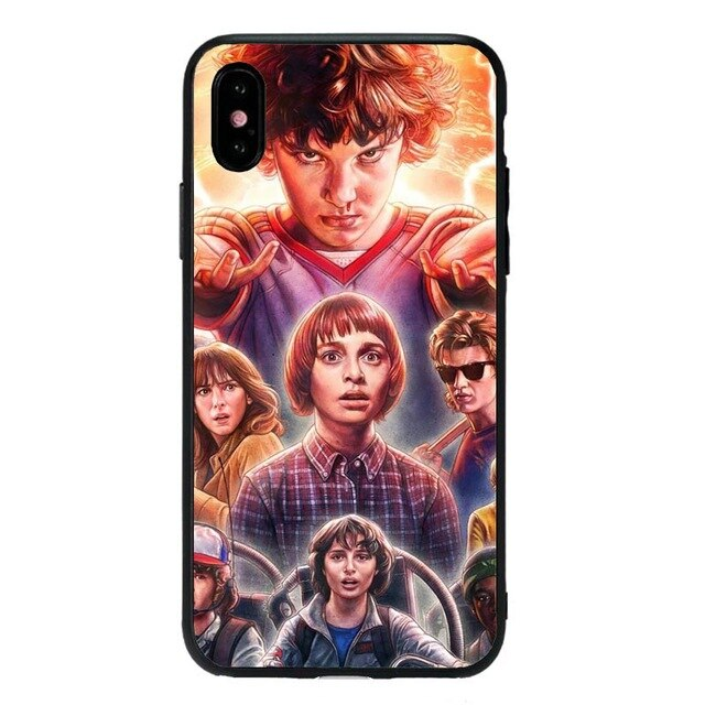 Funda iPhone Stranger Things Silicona 7
