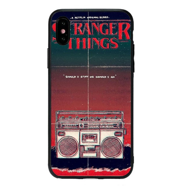 Funda iPhone Stranger Things Silicona 4