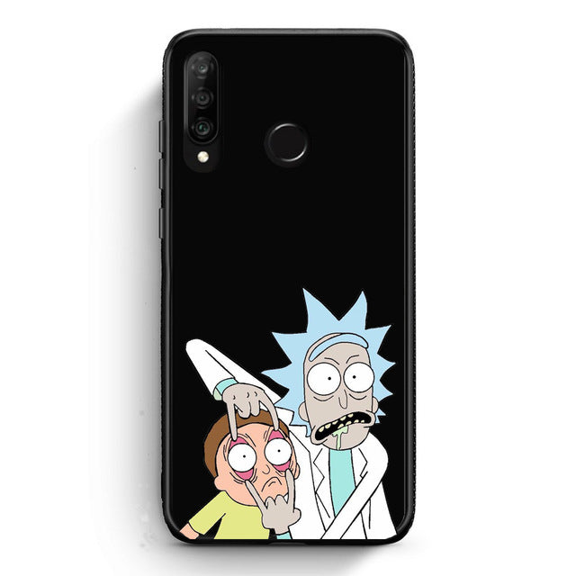 Funda Huawei Rick & Morty 23