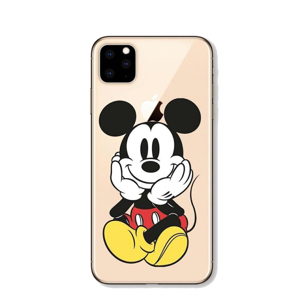 Funda iPhone Mickey Mouse Feliz