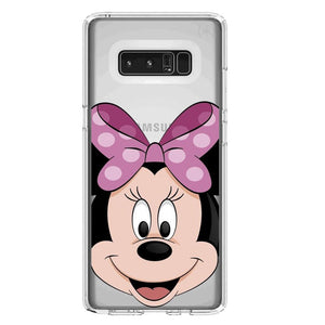 Funda Samsung Minnie Mouse Lazo Rosa