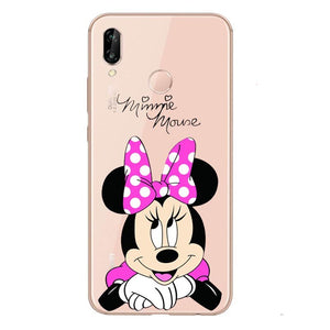 Funda Huawei Minnie Mouse Contenta