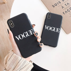 Funda iPhone Vogue