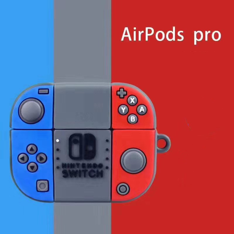 Funda AirPods Pro Nintendo Switch Silicona