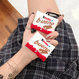 Fundas AirPods Pro Chocolate Kinder Bueno Silicona