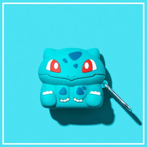 Funda AirPods Pro Bulbasaur Pokemon Silicona