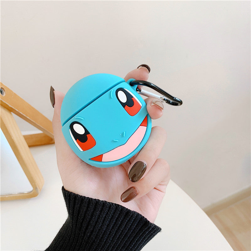 Fundas AirPods 1/2 Pokemon Squirtle Silicona