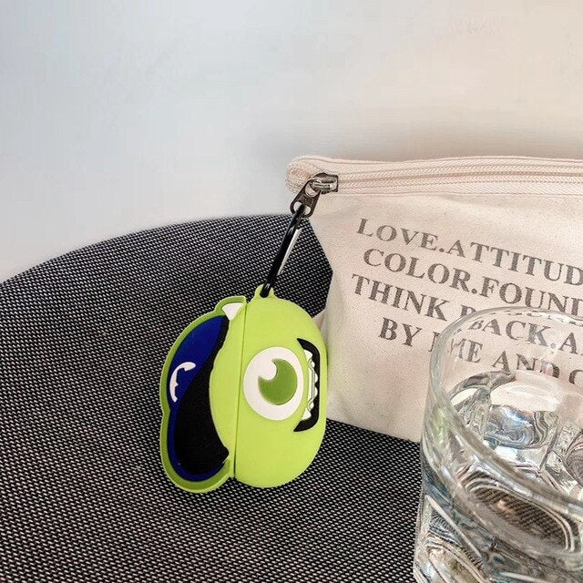 Fundas AirPods Pro Sulley & Mike Wazowski Silicona