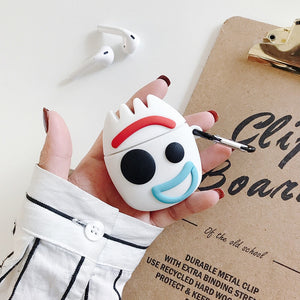 Fundas AirPods 1/2 Forky Toy Story Silicona