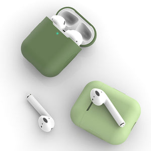 Funda Airpods 1/2 Silicona Colores