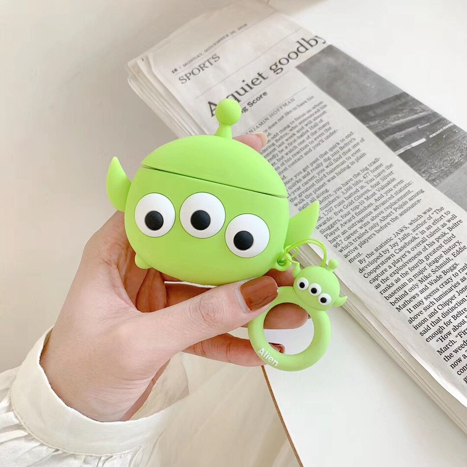 Fundas AirPods 1/2 Alien Toy Story Silicona