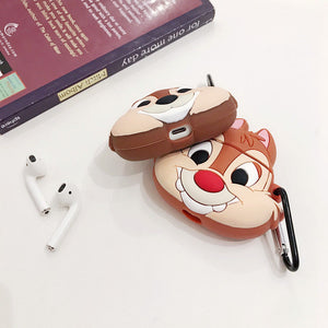 Fundas AirPods 1/2 Chip & Chop Silicona