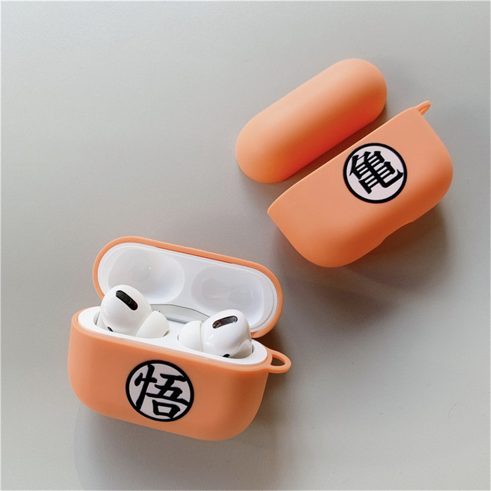 Funda Airpods Pro Simbolo Dragon Ball Silicona