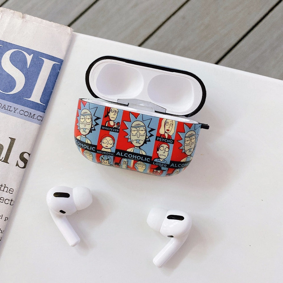 Fundas AirPods Pro Rick & Morty