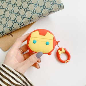 Fundas AirPods Pro Iron Man Silicona