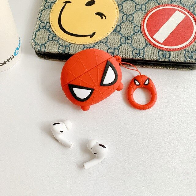 Fundas AirPods Pro Spiderman Silicona
