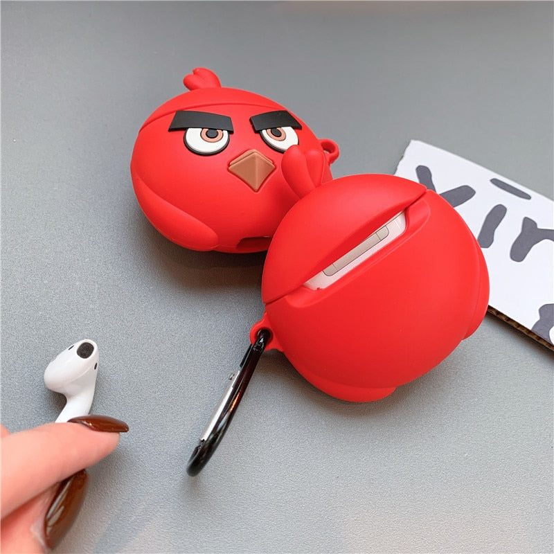 Funda AirPods Pro Angry Birds Silicona