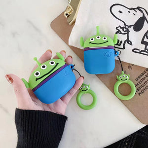 Funda AirPods Pro Toy Story Alien Silicona