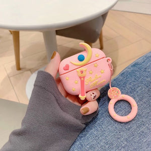 Fundas AirPods Pro Anime Sailor Moon Silicona