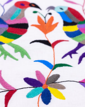 Tenango multicolor birds - 50x50cm