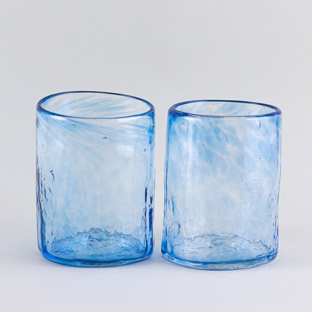 Set of 2 tumblers, blue