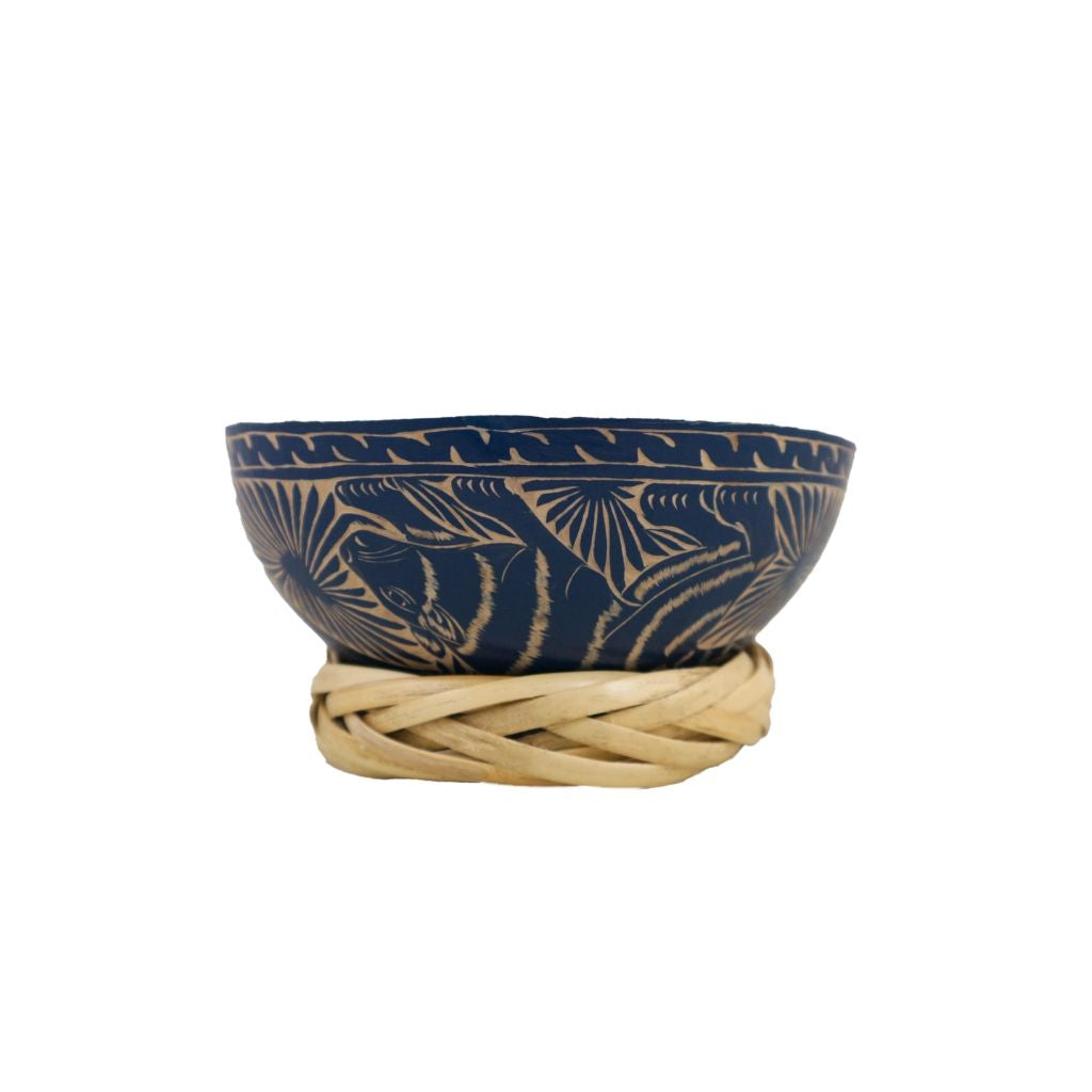 Carved Jícara Bowl