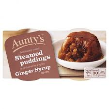 Aunty's Ginger Syrup Steamed Pudding