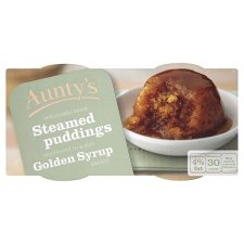 Aunty's Golden Syrup Steamed Pudding