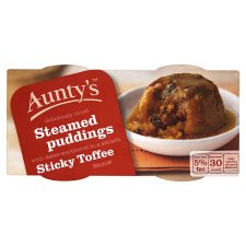 Aunty's Sticky Toffee Steamed Pudding