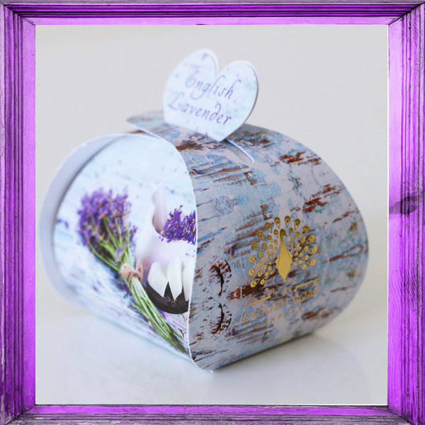 English Lavender Luxury Guest Soaps