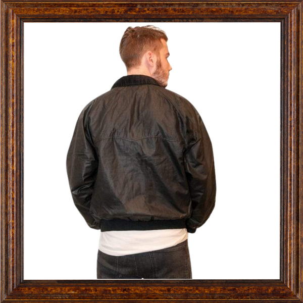 Mens Original Wax Harrington Jacket