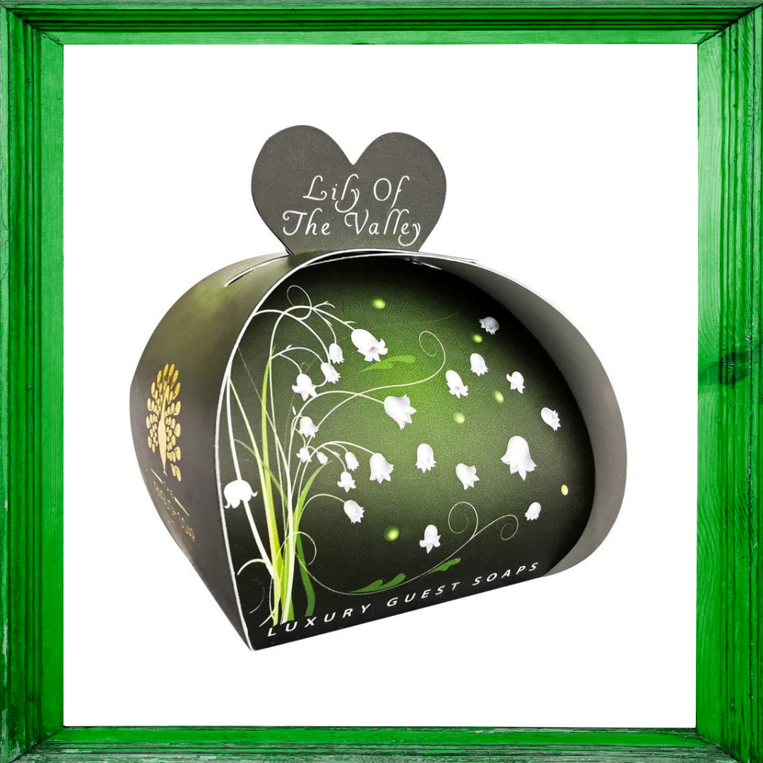 Lily of the Valley Luxury Guest Soaps