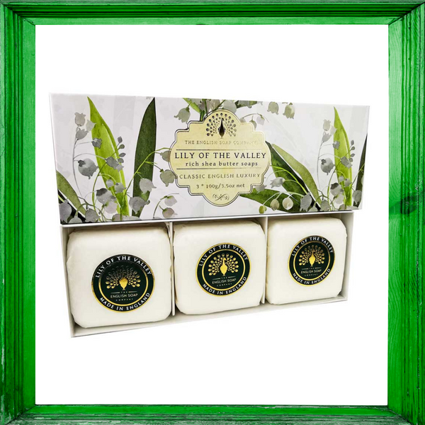 Lily of The Valley Gift Boxed Hand Soaps