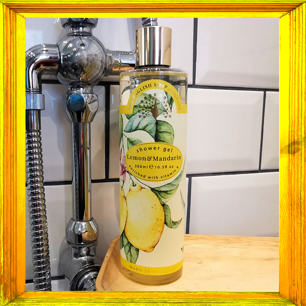Lemon and Mandarin Shower Gel