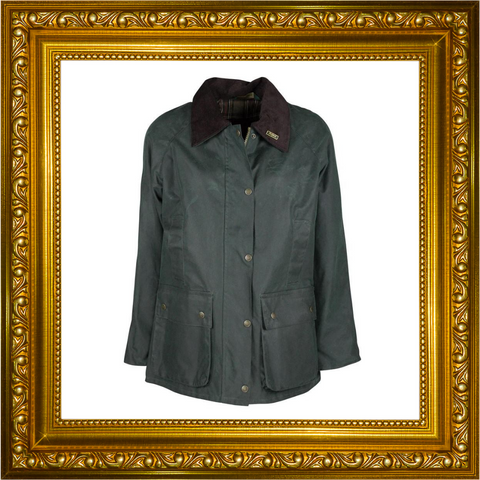 Country Girl, ladies waxed jacket