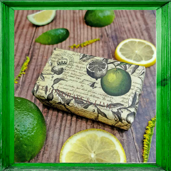 Kew Gardens Lemongrass and Lime Soap