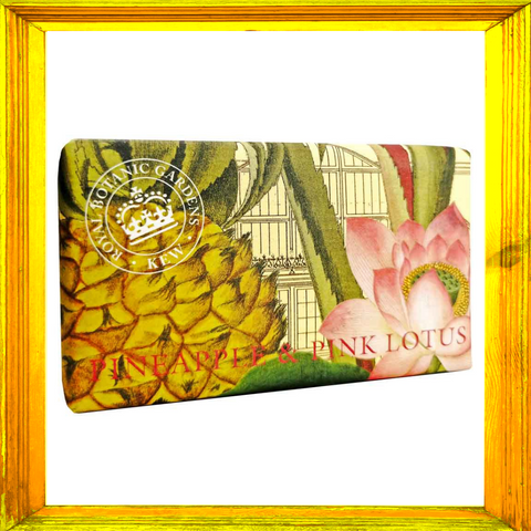 Kew Gardens Pineapple & Pink Lotus Soap