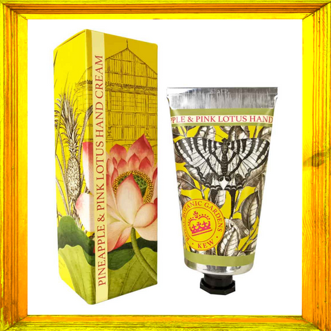 Kew Gardens Pineapple & Pink Lotus Hand Cream
