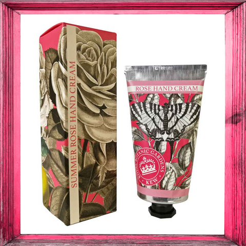Kew Gardens Summer Rose Hand Cream