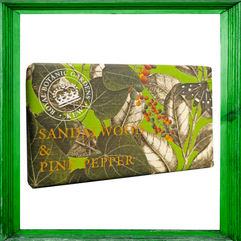 Kew Gardens Sandalwood & Pink Pepper Soap