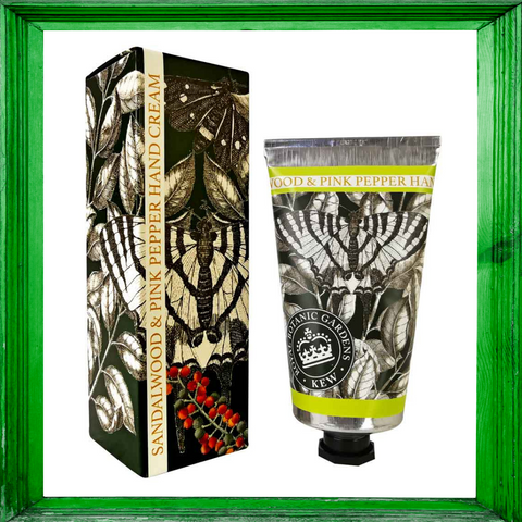 Kew Garden Sandalwood & Pink Pepper Hand Cream